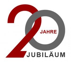 Firmenjubiläum - 20 Jahre